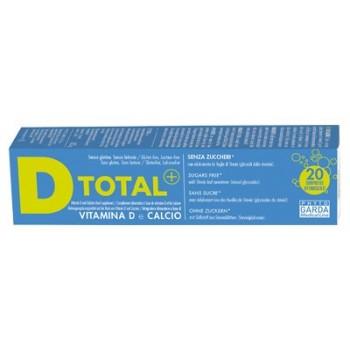 D TOTAL+ VIT D-CA 20CPR EFFERV